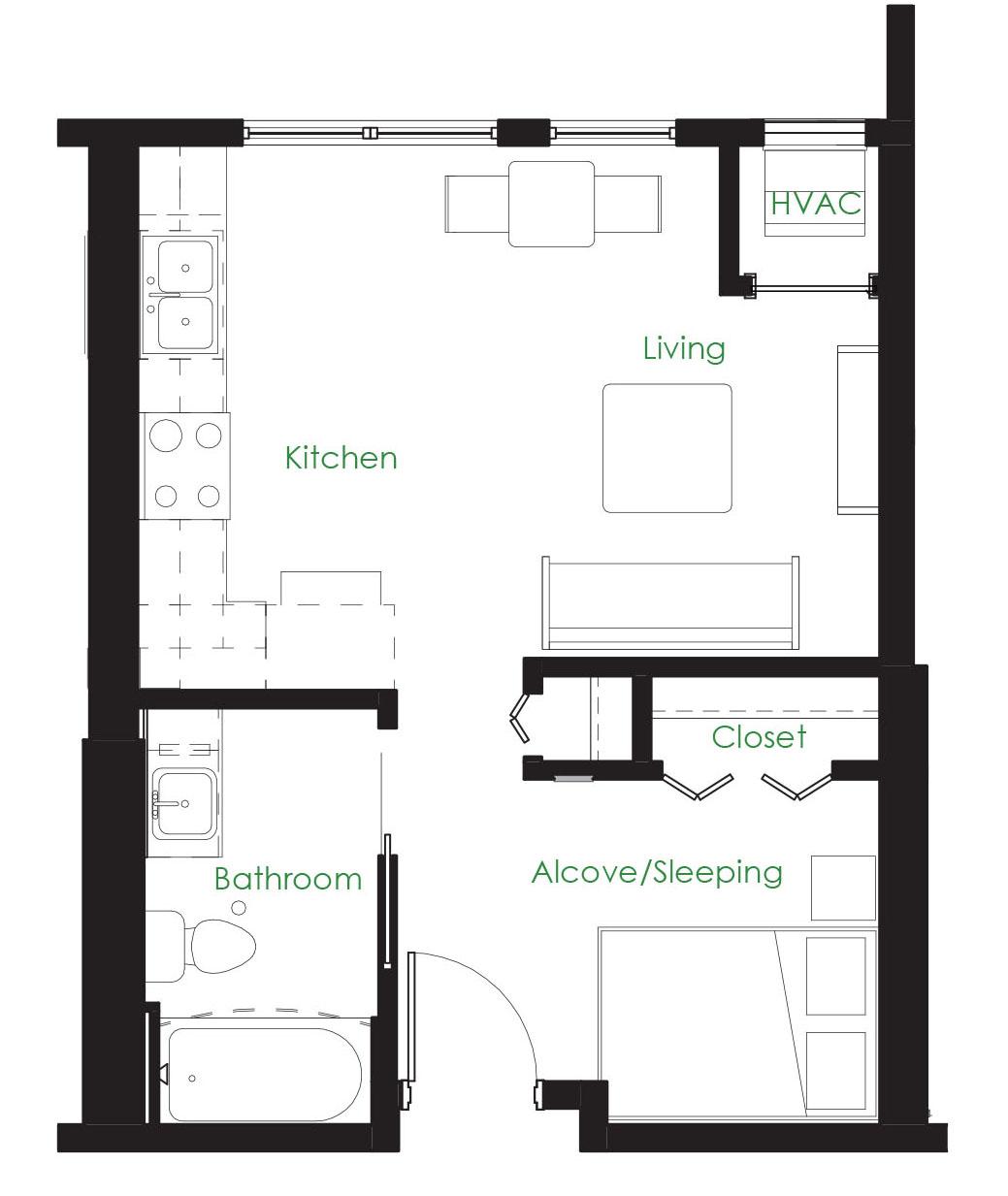 open floor plan apartments minneapolis