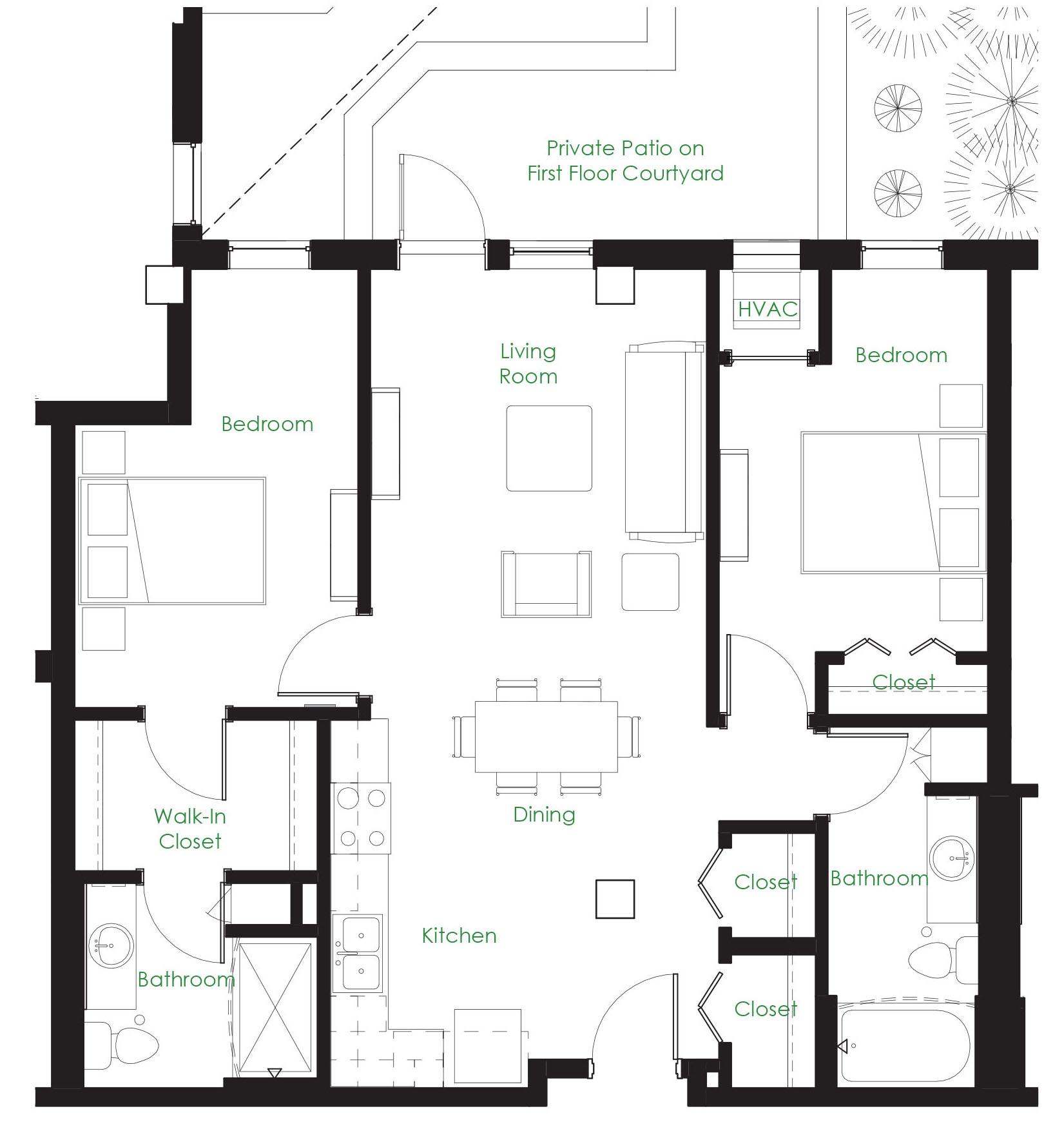 1 Bedroom Apartments Minneapolis: Two Bedroom Apartment Minneapolis MN