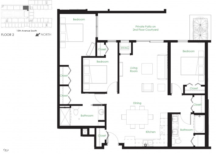 Three Bedroom D3