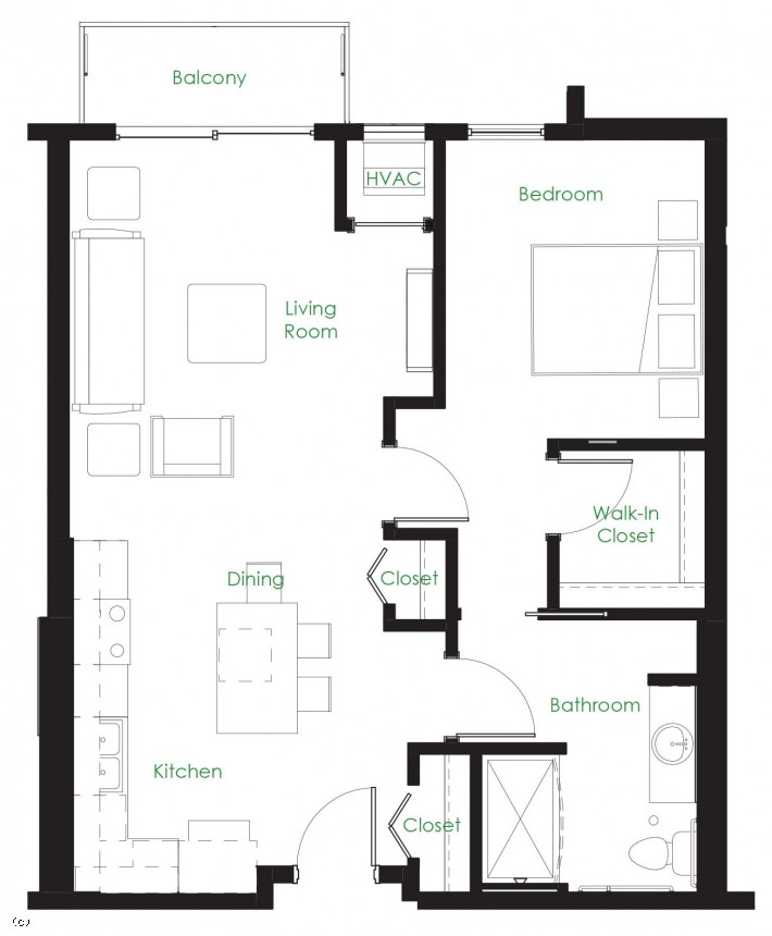 One Bedroom B4-ACC