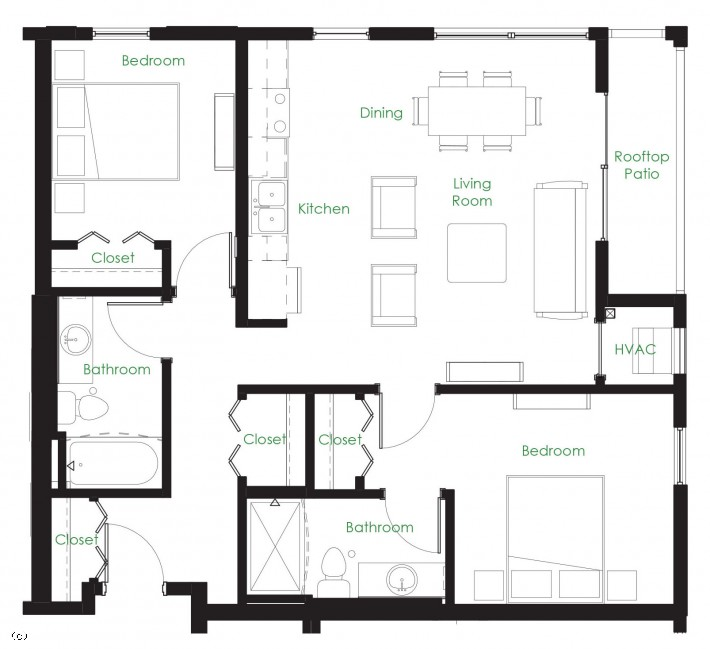 Two Bedroom C12