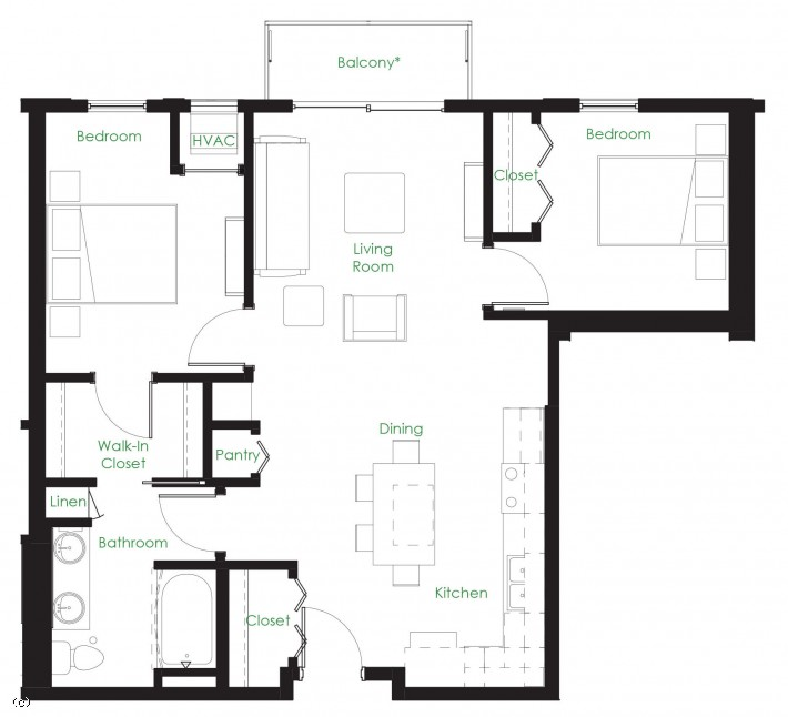 Two Bedroom C9